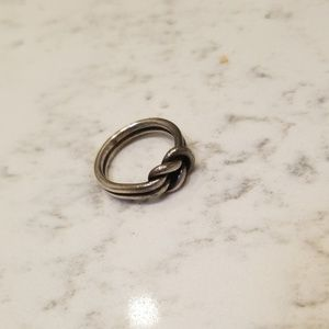James Avery love knot ring